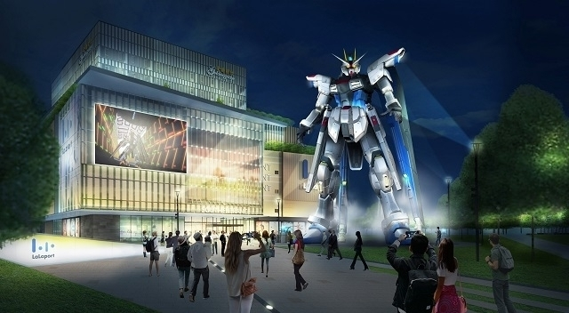 中国・上海の三井ショッピングパークららぽーと上海金橋前に設置予定