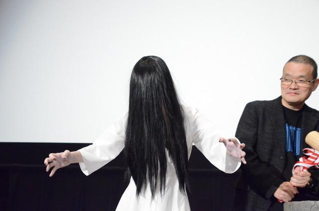 「リング」のオリジナルチームによる最新作「貞子」イベントでの中田秀夫監督