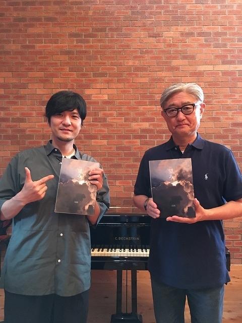 (左から)森山直太朗、堤幸彦監督