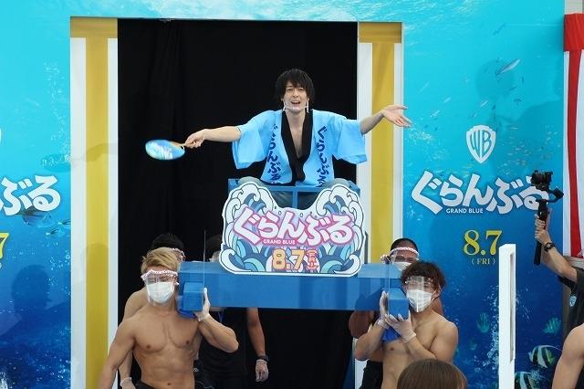 竜星涼&犬飼貴丈、神輿で登場し夏祭りムード全開! 与田祐希ら女優陣は涼しげな浴衣姿 - 画像5
