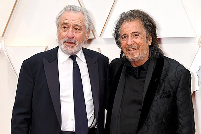 ロバート・デ・ニーロ(左)とアル・パチーノ