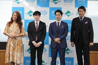 小泉環境大臣、環境をテーマにした短編映画の優秀作品を発表 学校教育への導入にも意欲