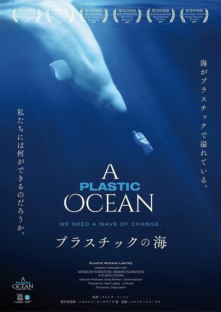 年間800万トンものプラスチックが海に捨てられ、海洋汚染を引き起こしている