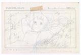 『魔女の宅急便』(1989)レイアウト © 1989 角野栄子・Studio Ghibli・N