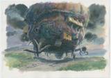 『ハウルの動く城』(2004)美術ボード © 2004 Studio Ghibli・NDDMT