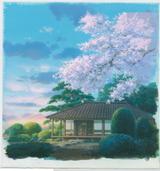 『風立ちぬ』(2013)背景画 © 2013 Studio Ghibli・NDHDMTK
