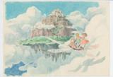 『天空の城ラピュタ』(1986)イメージボード 宮崎駿 © 1986 Studio Ghibli