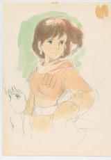 『風の谷のナウシカ』(1984)イメージボード 宮崎駿 © 1984 Studio Ghibli・H