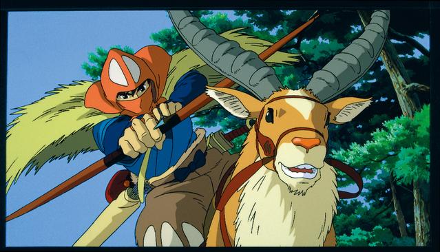 『もののけ姫』(1997)スチール写真 宮崎駿 © 1997 Studio Ghibli・ND