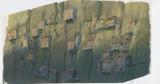 『天空の城ラピュタ』(1986)背景画 © 1986 Studio Ghibli