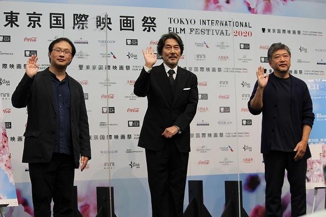 第33回東京国際映画祭アンバサダーは役所広司! 是枝裕和監督が企画した豪華トークイベントを実施