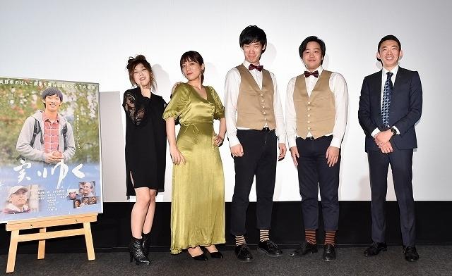 左から中野、橋本、竹内、田中、八木監督