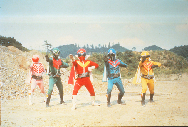 「秘密戦隊ゴレンジャー」生誕45周年記念