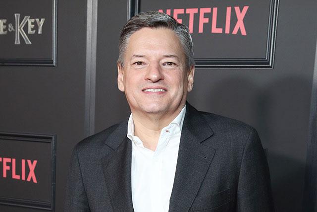Netflixのテッド・サランドス氏