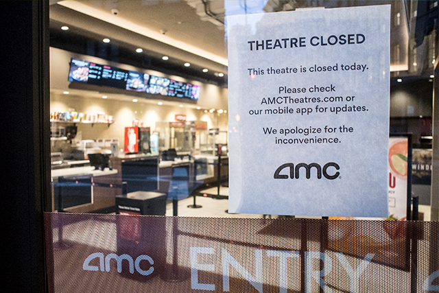 米ニューヨーク州で映画館が再開 劇場側が公開書簡で嘆願