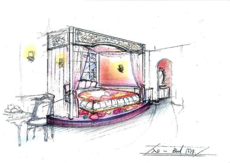 天蓋付ベッド、浴室に鶴…実在した釧路のラブホを再現 波瑠主演「ホテルローヤル」絵コンテ公開