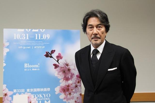 役所広司、アンバサダーを引き受けた東京国際映画祭に願うこと