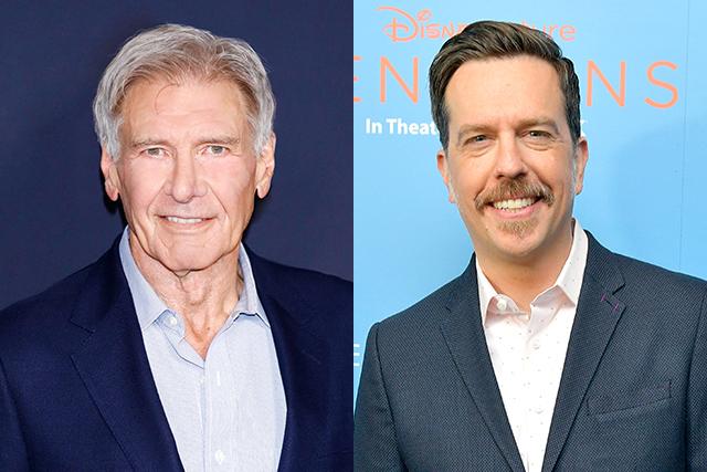 ハリソン・フォード&エド・ヘルムズ、実話を題材にした新作コメディに主演