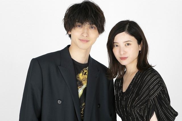 インタビューに応じた吉高由里子と横浜流星