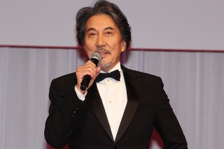 第33回東京国際映画祭開幕! 役所広司、コロナ禍での開催に「観客の皆さんと頑張っていきたい」