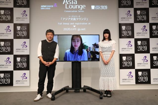 是枝裕和監督がモデレーターを務めた