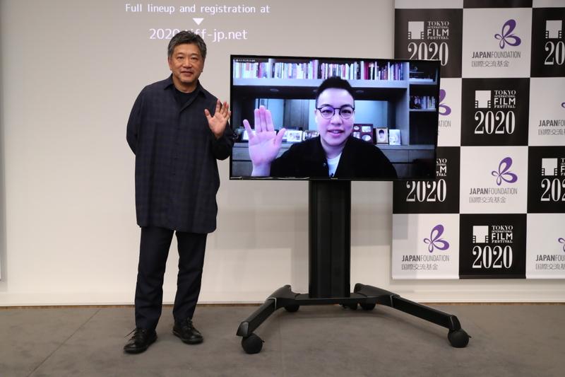 是枝裕和監督が「台北暮色」監督と語る台北の風景、ホウ・シャオシェン