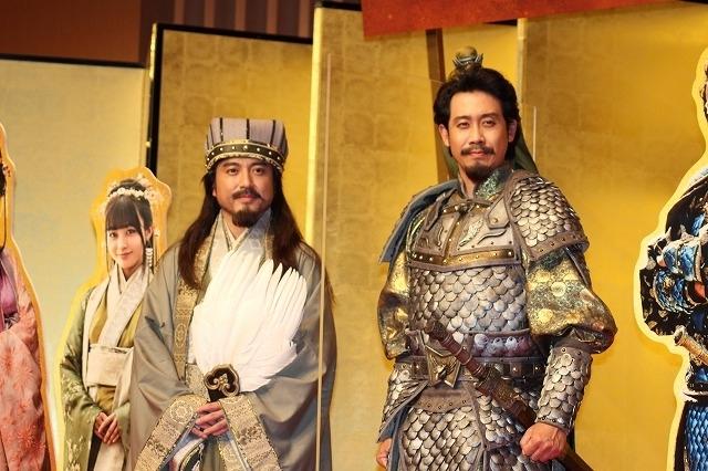 「新解釈・三國志」会見のはずが、NHK紅白歌合戦にも言及した大泉洋
