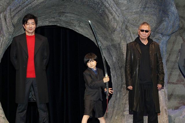 大沢たかお&杉咲花、「妖怪大戦争」で寺田心くんを導く妖怪に! 「心くんをびびらせたかった」