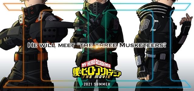 劇場版「ヒロアカ」第3弾、21年夏に公開! 謎の新コスチューム姿の ...