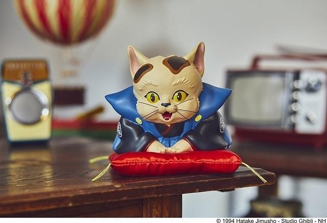 「平成狸合戦ぽんぽこ」モチーフの猫福助グッズが発売中 貯金箱など全4種類