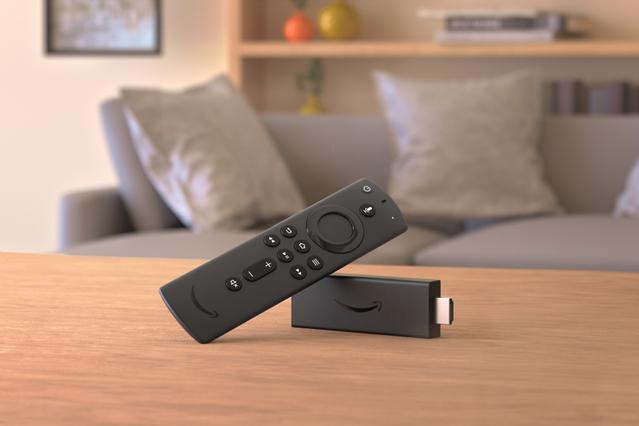 数千のアプリ、ゲーム、映画、TV番組から検索可能なAmazon Fire TV Stick