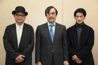 益岡徹、田口浩正、淵上泰史 ほぼワンシチュエーションの会話劇をどう演じた?
