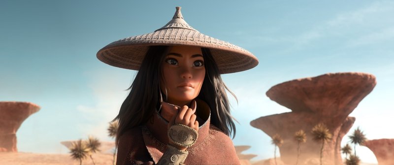 ディズニー最新作「ラーヤと龍の王国」ヒロイン、ラーヤの場面写真公開