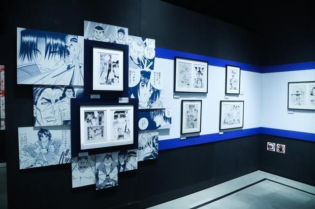 「るろうに剣心」25周年を記念した初の大規模作品展、その全貌に迫る - 画像2
