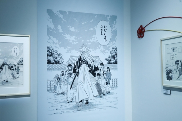 「るろうに剣心」25周年を記念した初の大規模作品展、その全貌に迫る - 画像7