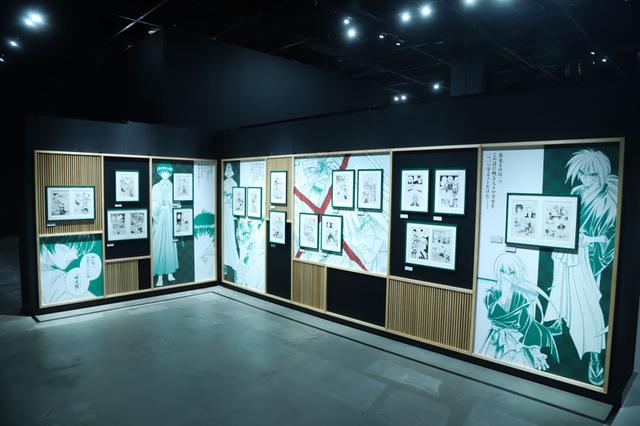 「るろうに剣心」25周年を記念した初の大規模作品展、その全貌に迫る - 画像15