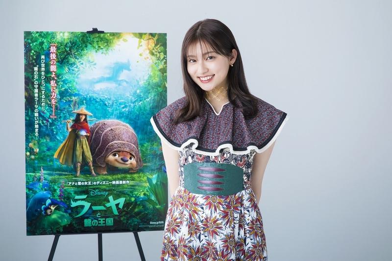 吉川愛、声優初挑戦でディズニーヒロインに! 「ラーヤと龍の王国」日本語吹き替え版に参加