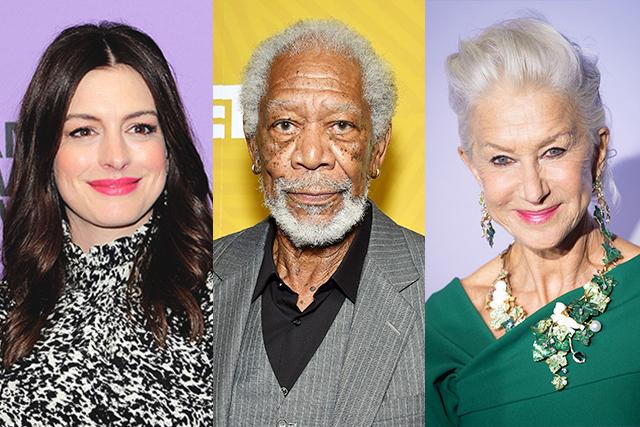アン・ハサウェイ、モーガン・フリーマン、ヘレン・ミレンら豪華キャスト集結 アンソロジードラマ「Solos」をアマゾンが制作