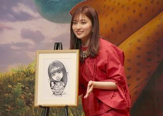 吉川愛、ディズニーヒロインの声優は「幸せ」 直筆イラストのプレゼントに感激