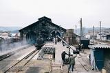 撮影現場となった熊本・人吉駅の石造機関庫。人吉市は2020年7月の豪雨災害で大きな被害を受けた