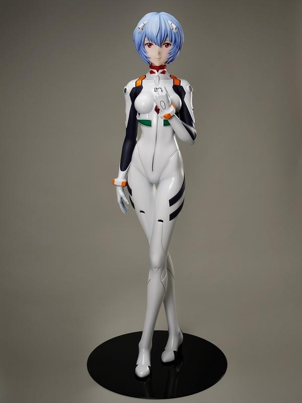 綾波レイの等身大フィギュア、181万円で販売 2メートル越えのエヴァ初号機も - 画像3