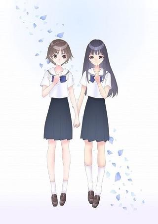 ゲーム「BLUE REFLECTION」4月TVアニメ化 石見舞菜香、千菅春香が新たな少女役に