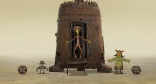 「不思議惑星キン・ザ・ザ」アニメ版「クー!キン・ザ・ザ」キッチュでシュールな場面カット10枚公開
