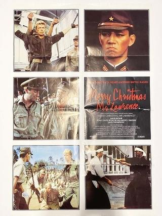 盗難された「戦場のメリークリスマス」ポスター、新宿武蔵野館に無事返却
