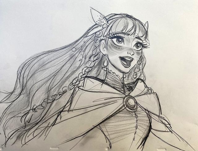 「アナと雪の女王」「塔の上のラプンツェル」のジン・キムによるキャラクターデザイン
