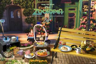 「ズートピア」のカフェが期間限定オープンへ ジュディの冷凍食品も再現