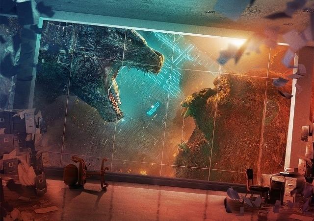 【全米映画ランキング】「ゴジラvsコング」V2 コロナ・パンデミック下での最大のヒット作に