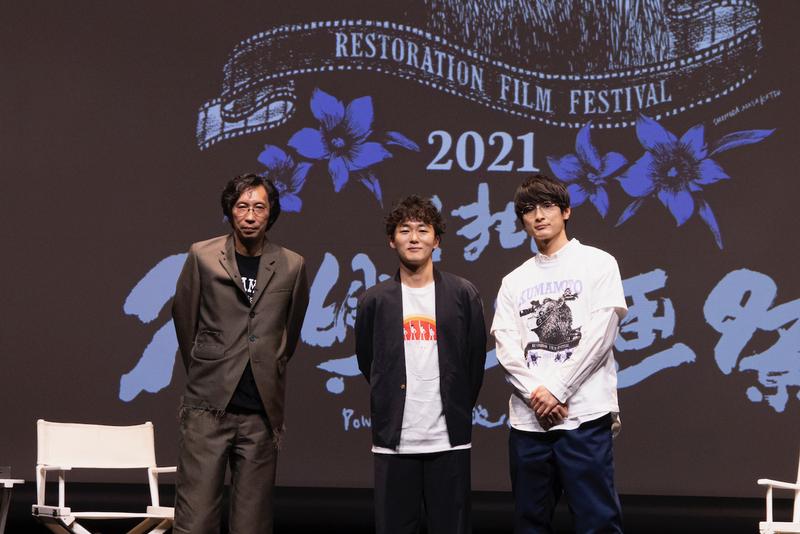 くまもと復興映画祭2021、開幕! 行定勲監督が高良健吾が並々ならぬ熱情を明かす