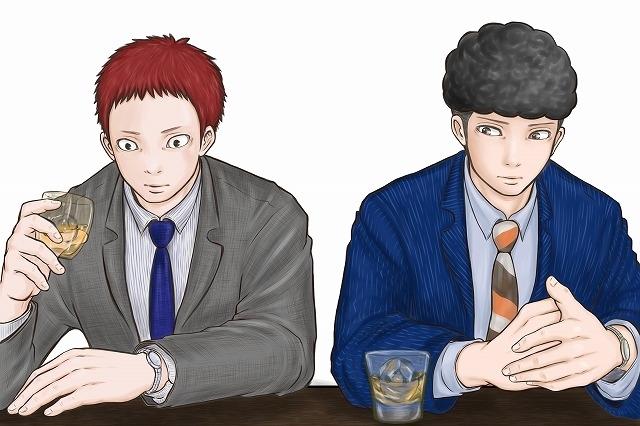 山田武志(左)、源誠二(右)