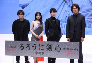 佐藤健、有村架純はミステリアス 「るろ剣」撮影は「夢の中みたい」